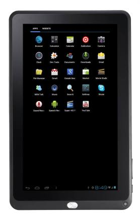 Tivax MiTraveler10C2 Android Tablet