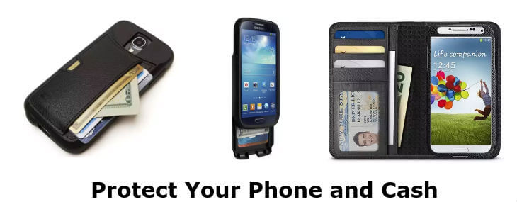 Samsung Galaxy S4 wallet cases