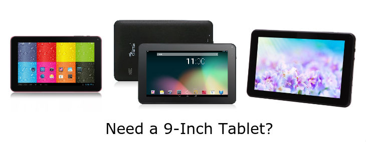 9 inch Android tablets
