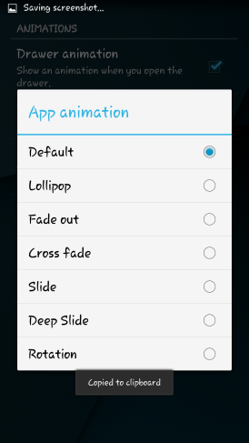 Lightweight Android Launcher
