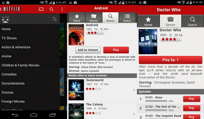 Netflix - Movie Apps for Android