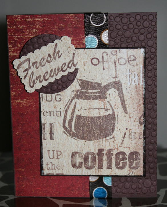 Coffee Java Joe Card…