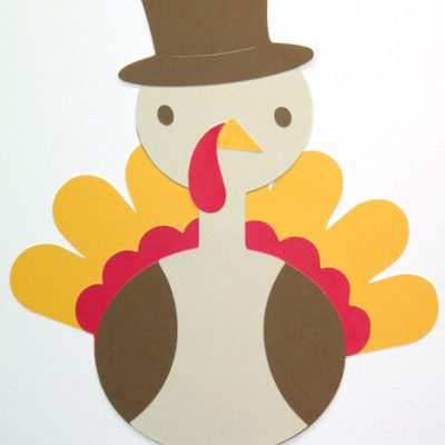 Cricut Create A Critter Post It Craft Paper Turkey EASY Wall Decor