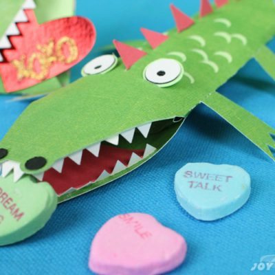 Crocodile Smile Pillow box & Card – Animal Blog Hop