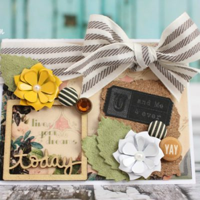 Live Your Dreams Card & Freckled Fawn Giveaway