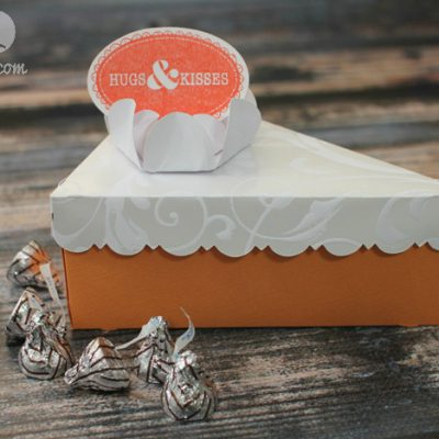 Cricut Artiste Pumpkin Pie Treat Box