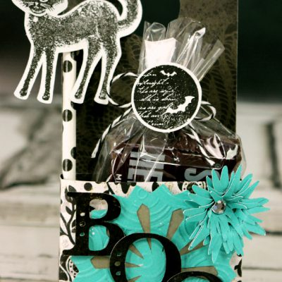 Cricut Art Philosophy Halloween Boo Door Hanger
