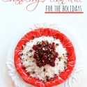 Cranberry Pecan Rice for the Holidays