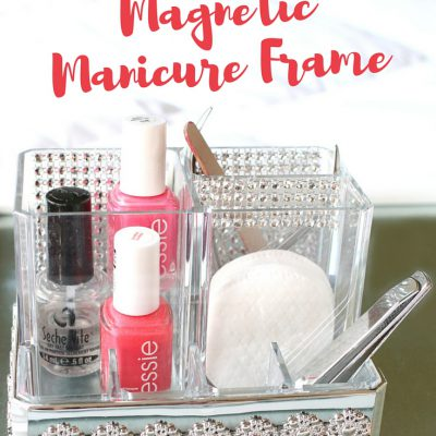 How to Make a DIY Portable Magnetic Manicure Frame