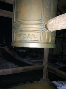 除夜の鐘写真