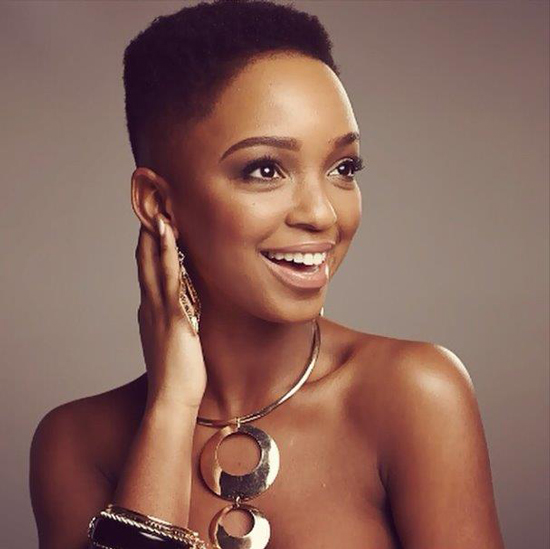African Queen Nandi Mngoma Strips to mark New Beginning