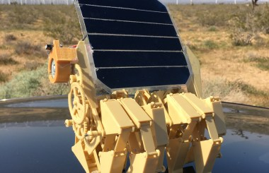 Solar Powered Strandbeest