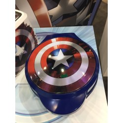 Small Crop Of Captain America Waffle Maker