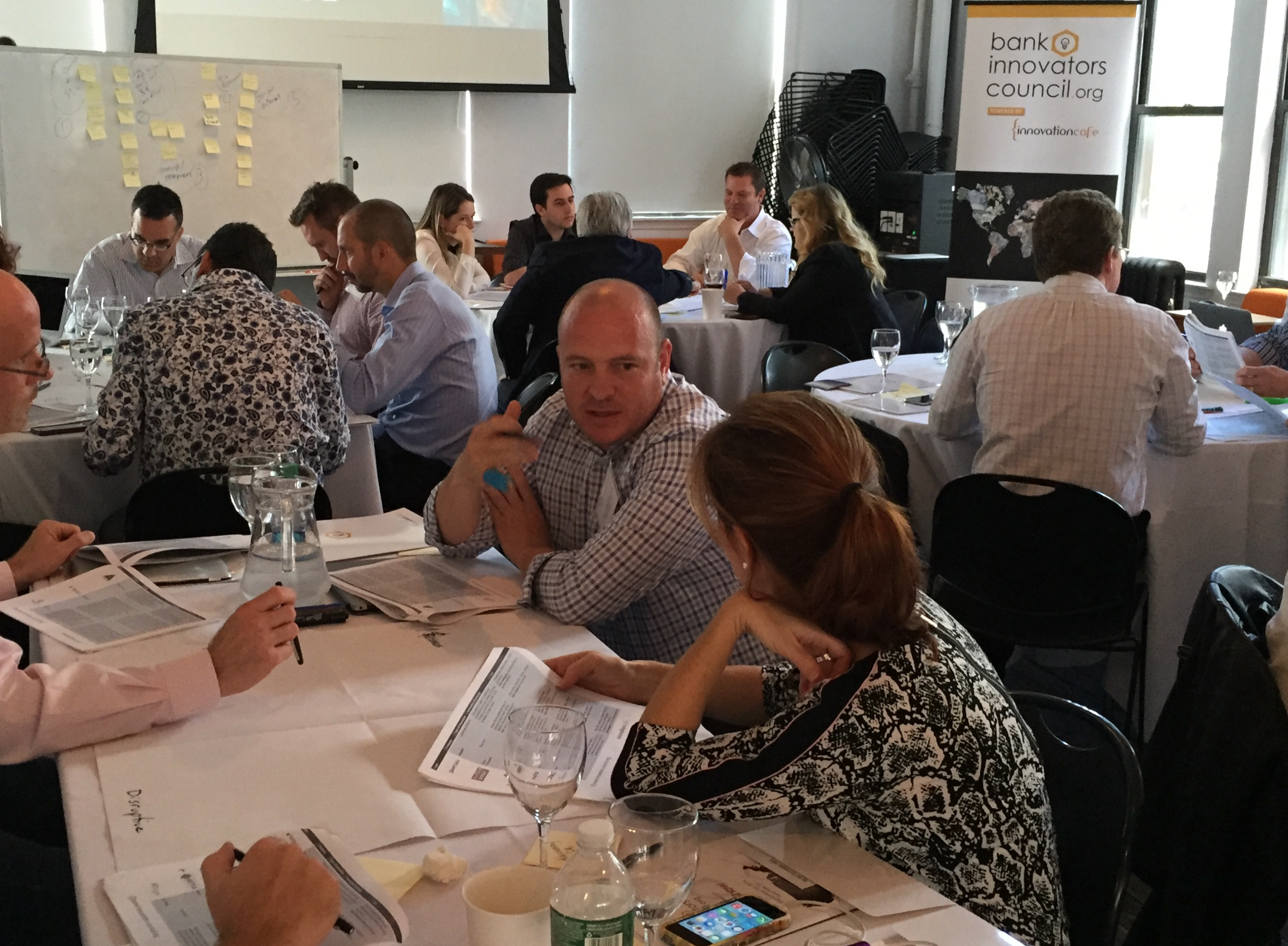 Bank Innovators Lab Day - New York 2014