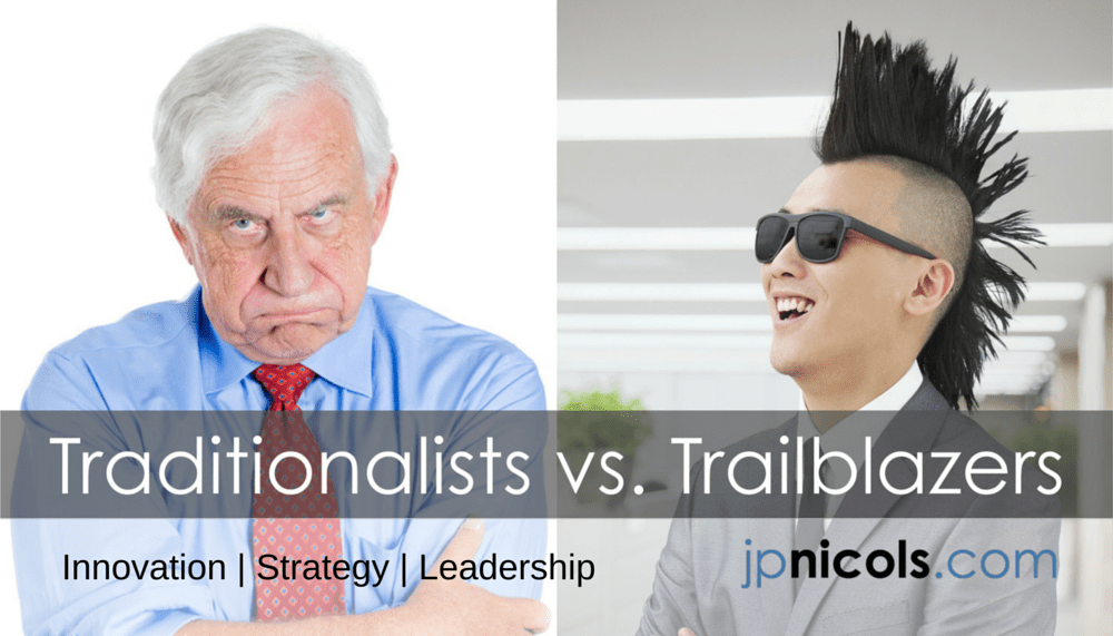 Traditionalists vs. Trailblazers in Innovation