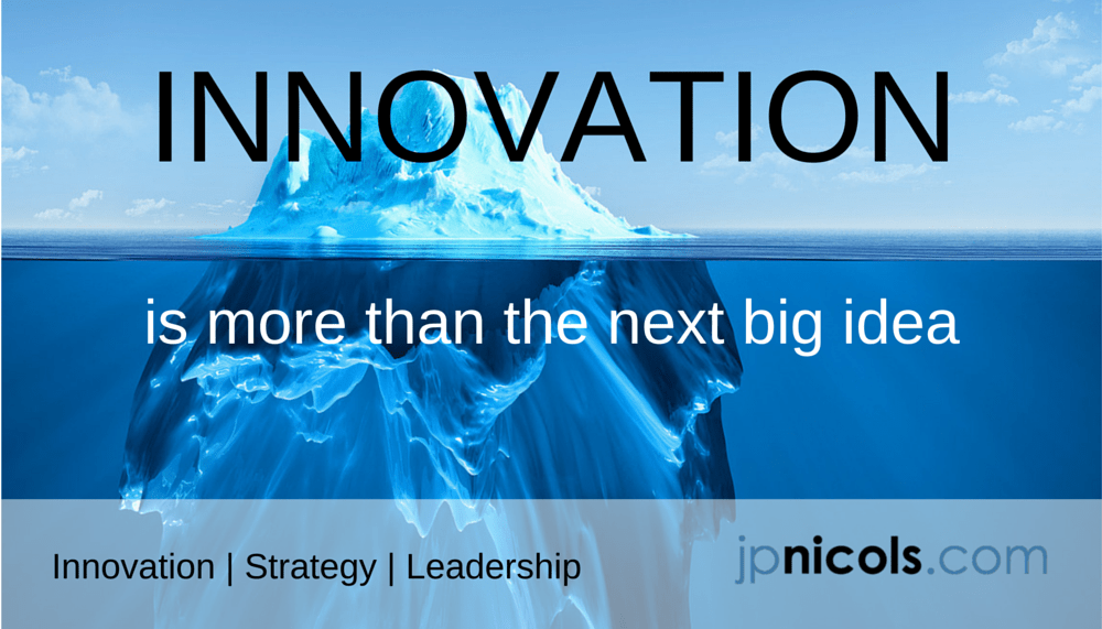Innovation is More than the Next Big Idea