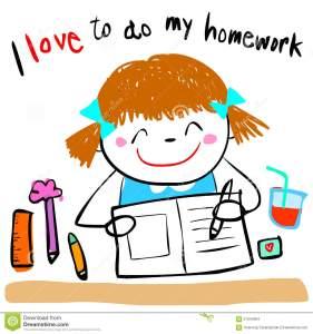 happy-kid-love-to-do-homework-illustration-cute-girl-her-doodle-cartoon-style-57944384