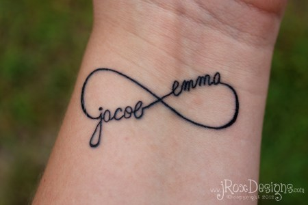 infinity tattoo2
