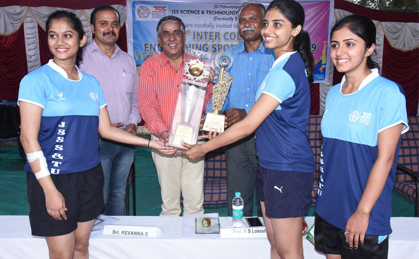 1st inter college sports meet