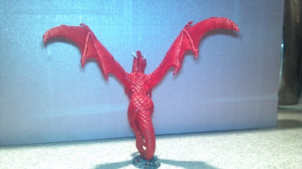 Red Dragon base coat. Click to Enlarge.