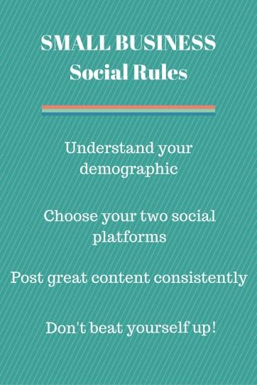 social media, small business social, social media rules