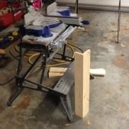 First leg is built!