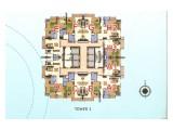 Dijual Cepat Apartemen Residence 8 – 2 BR 178 m2 Semi Furnished - Under Market Price