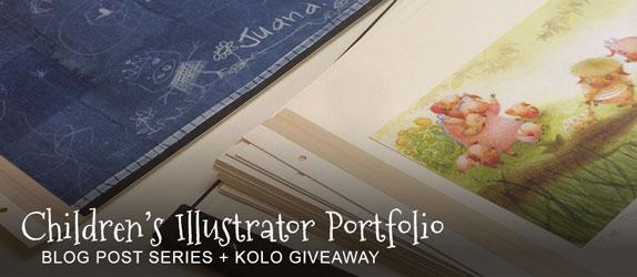 Children's Illustrator Portfolio Header