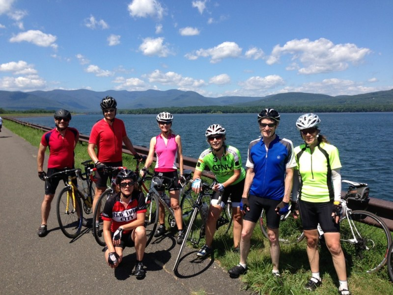 NYCC rides to the Ashokan Reservoir. I stayed home.
