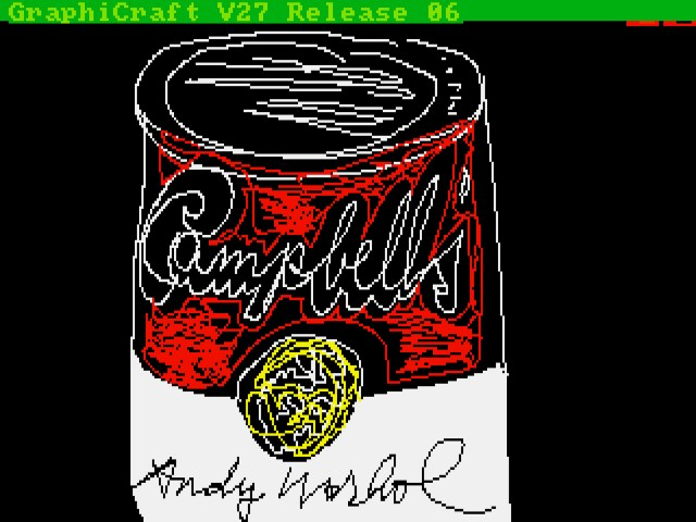 Andy Warhol, Campbell's, 1985, ©The Andy Warhol Foundation for the Visuals Arts, Inc., courtesy of The Andy Warhol Museum.