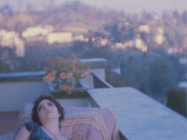Yvonne Marquis in the Hollywood Hills in Kenneth Anger's Puce Moment