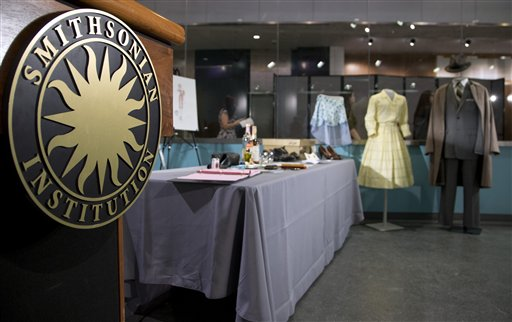 Mad Men props and costumes are going to the Smithsonian (AP Photo/Manuel Balce Ceneta).