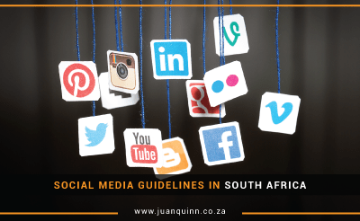 SOCIAL MEDIA GUIDELINES IN SOUTH AFRICA