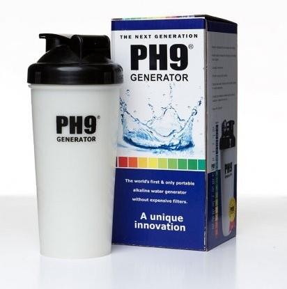 Generador de agua con pH 9 y con un mayor poder antioxidante (con un par)