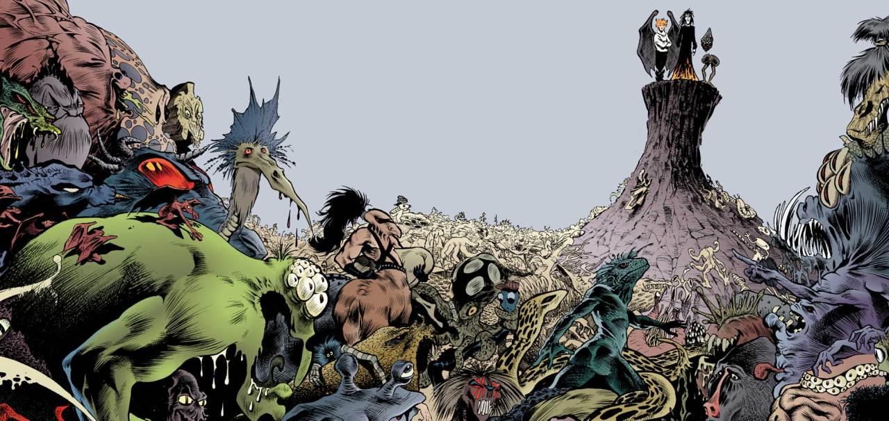 O mundo de Sandman