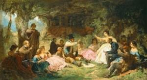 Carl Spitzweg - Das Picknick