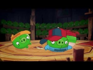 Vídeo de Angry Birds Toons Pig Talent