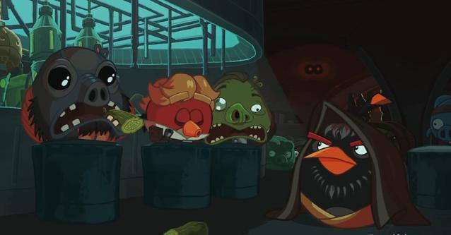 video Angry Birds Star Wars