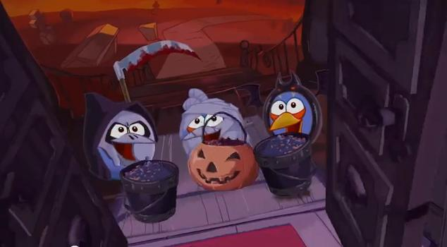 video de Angry Birds Halloween Trick or Tweet