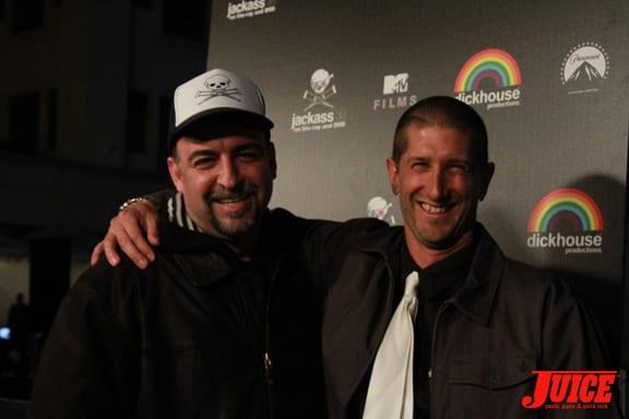 Trip Taylor (right). Photo: Dan Levy