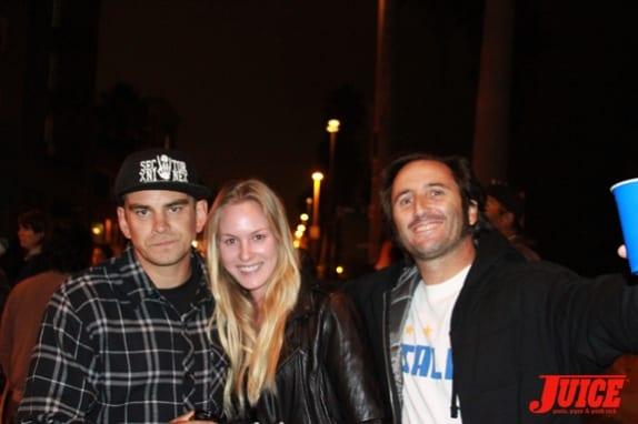 Shane Allen and girlfriend with EG Frantantaro