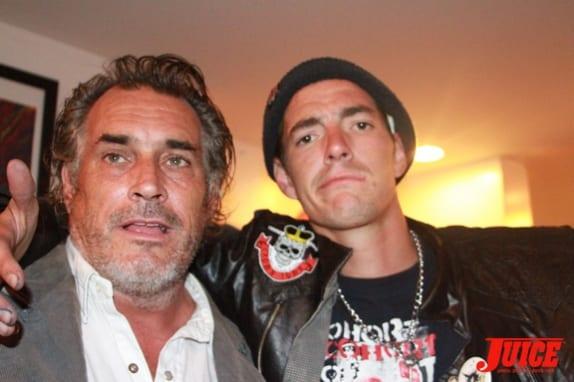 Steve Olson and Punker Johnny