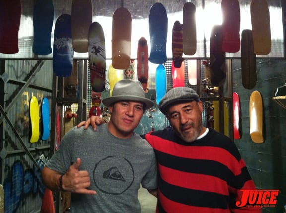 Christian Hosoi and Steve Caballero. Photo: Dan Levy
