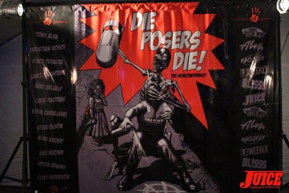 Die Posers Die!. Photo: Dan Levy