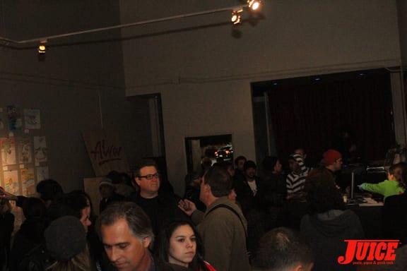Exhibit A Gallery. Photo: Dan Levy