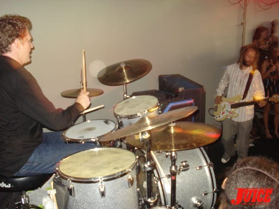 This drummer started playing with them three days before this show, and KILLED IT!