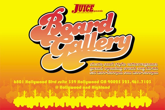 HOLLYWOOD SK8 JAM BOARD GALLERY
