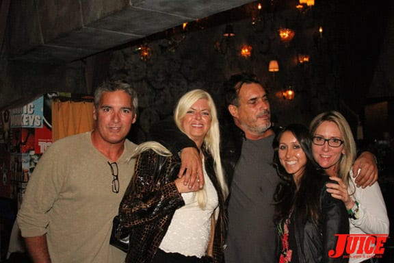 Terri Craft, Steve Olson, Vanessa Davey and Laura Thornhill