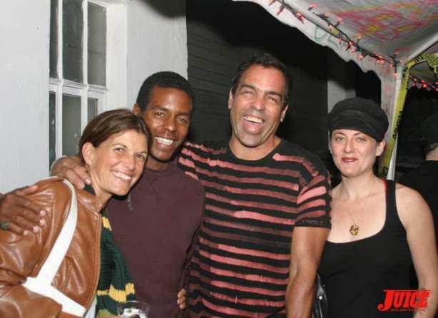 ONA GAUTHIER, ERIC BRITTON, ALAN SCOTT AND WIFE