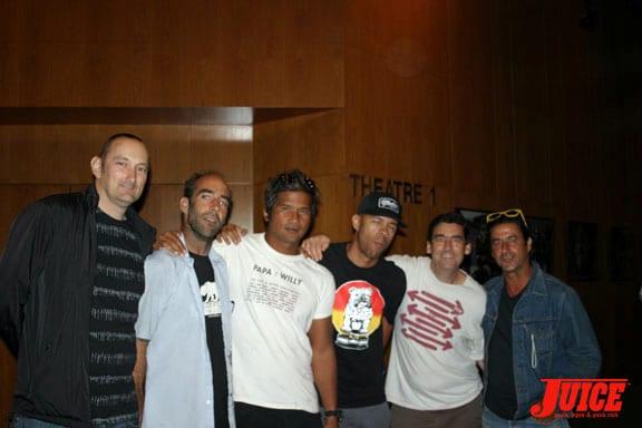Ian Deacon, Jeremy Henderson, Pat Ngho, Sal Barbier, Lance Mountain, Andy Kessler